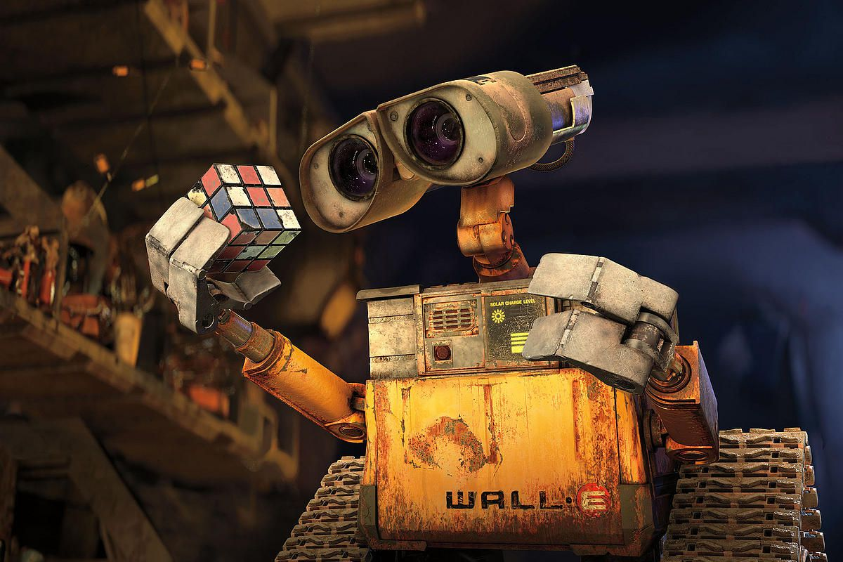 A picture of the animated robot WALL-E